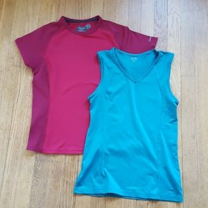 Lot of women's athletic tops M